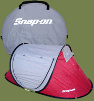 Camping Equipment Tents - SnapOn Bag And Tent