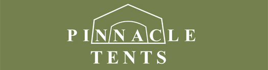 Custom Tent - Pinnacle Tents Logo