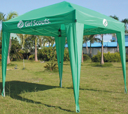Custom Tent Manufacturing - Girl Scouts